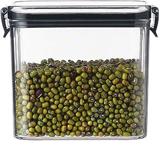 Boîte de rangement carrée de 3pcs pour Cuisine Food Conteneur Set Aspirateur Transparent Organisateur Auruminateur Pâtes T...