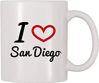 4 All Times I Love San Diego Coffee Mug (11 oz)