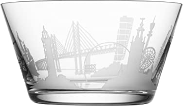 Orrefors 6130012 Sweden Cities Bowl, no size, Clear