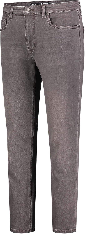 Mac Tools Arne Pipe Jeans Homme H078 Dark Brown