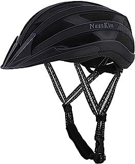 NESSKIN Adult Bike Helmet CPSC Certified Light Helmet, Bicycle Helmet for Men Women Road Cycling & Mountain Biking with De...