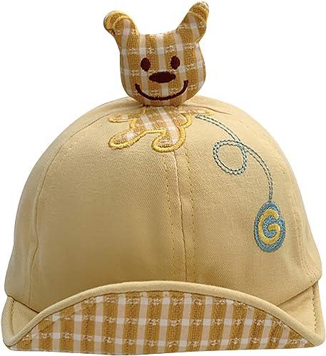 new arrival Baby Duck Cap Kids Sun Hat Bear Cute Cartoon popular Caps Spring Summer Soft wholesale Cotton Sun Cap for Baby outlet online sale
