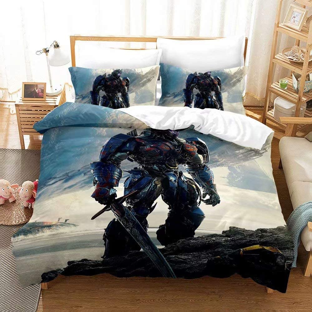 Haonsy SALENEW very popular Boys Max 80% OFF Transformers Bedding Sets Comforter Without Pieces 2