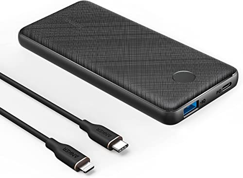 lowest Anker 2021 USB-C Portable Charger, new arrival 18W PowerCore Slim 10000 PD, and Anker Powerline III Flow, USB C to Lightning Cable online sale