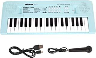 Shayson Piano for Kids, Electronic Keyboard Piano 37 Keys, Kids Piano Keyboard with Microphone, Multifunctional Keyboard Piano Music Educational Toys