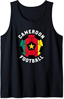 Cameroon Football Soccer Tank Top