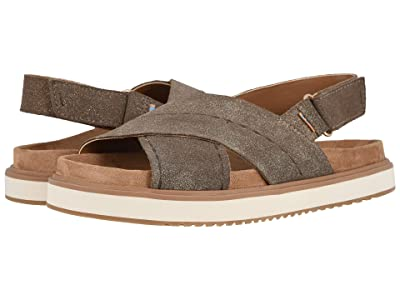TOMS Marisa (Dusty Gold Star Suede) Women