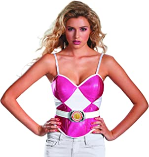 Costumes Sabans Mighty Morphin Power Rangers Ranger Bustier Costume