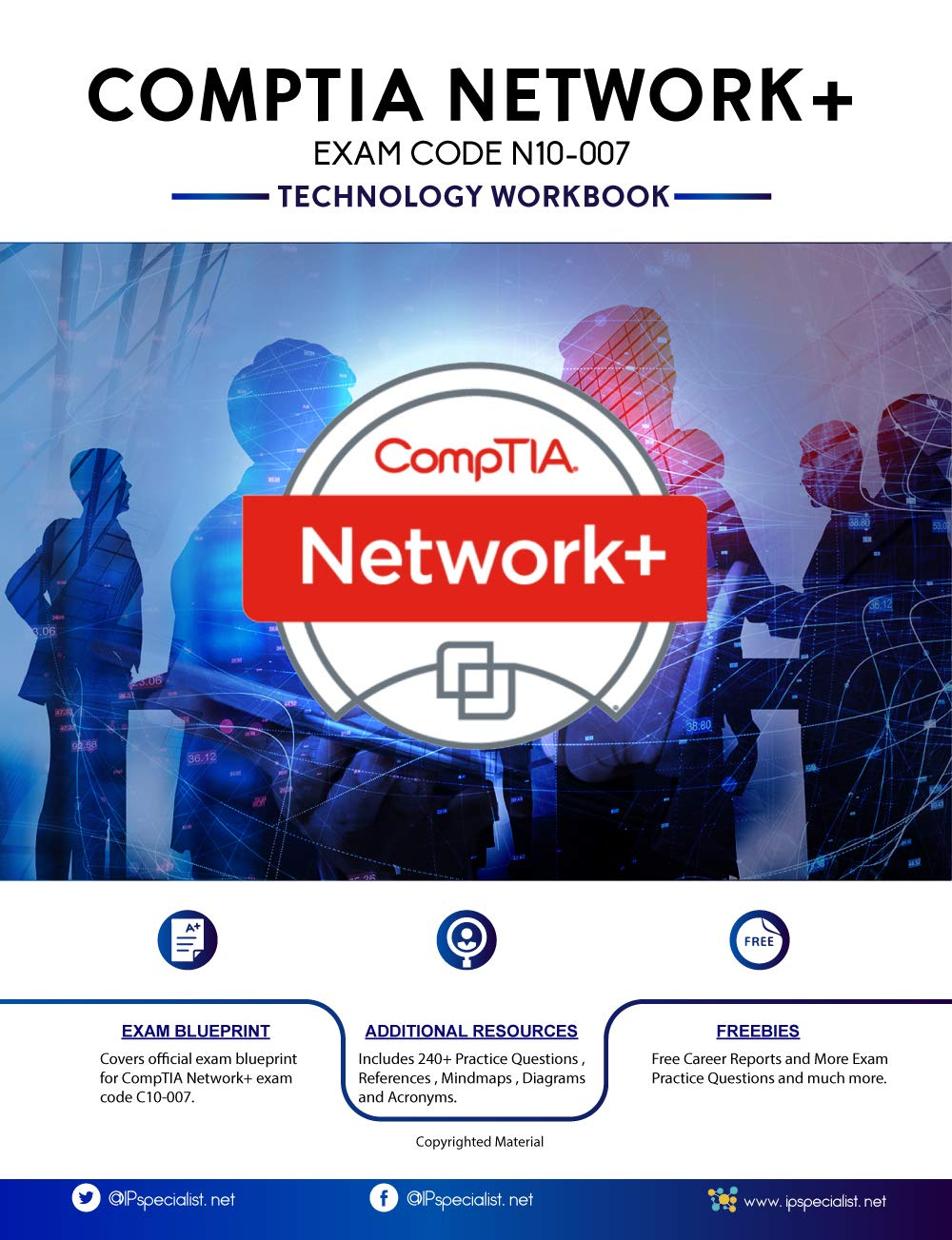 Image OfCompTIA Network+ Exam: N10-007: Technology Workbook / Latest 2020 Edition