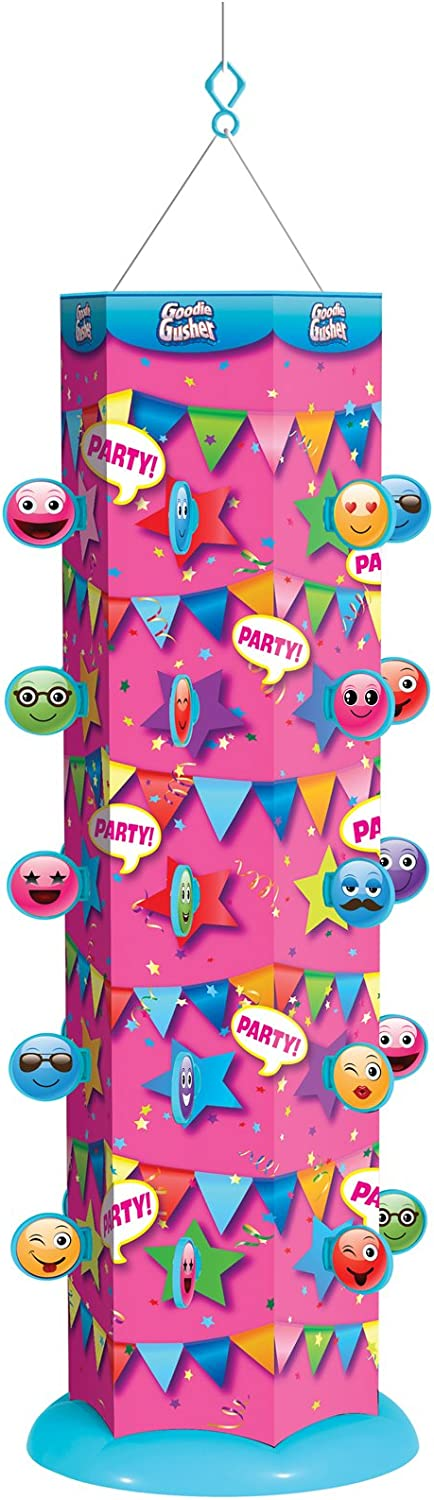 Goodie Gusher Reusable Party Pink Pixie free specialty shop Piñata Emoticon