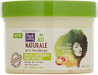 SoftSheen-Carson Dark and Lovely Au Natural Anti-Breakage Super Softening Hair Butter, 8 oz