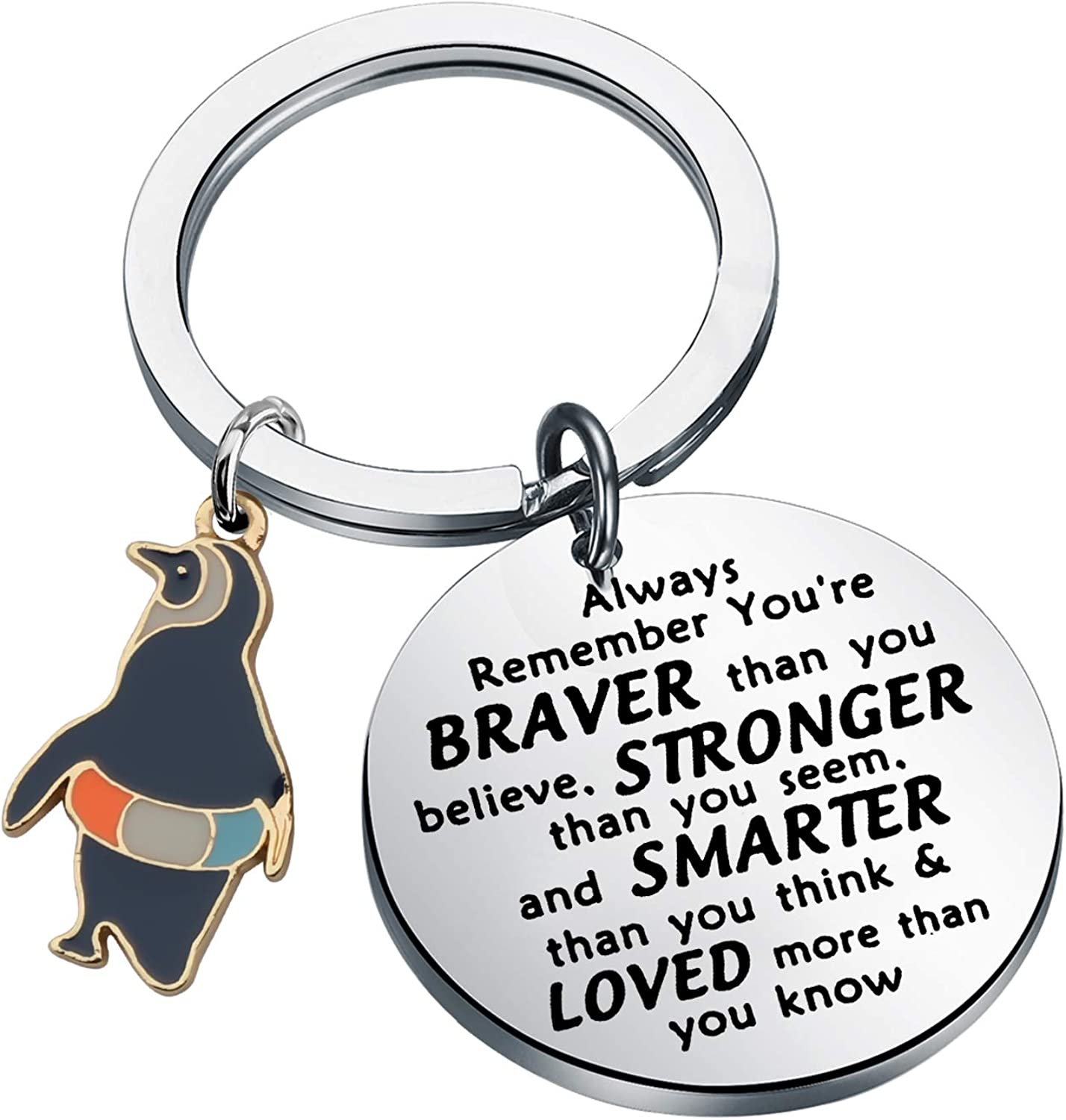 WSNANG Penguin Gifts Keychain Inspirational Outlet ☆ Free online shop Shipping for Pe