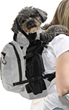 K9 Sport Sack | Dog Carrier Backpack for Small and Medium Pets | Front Facing Adjustable Pack with Storage Bag | Fully Ventilated | Veterinarian Approved