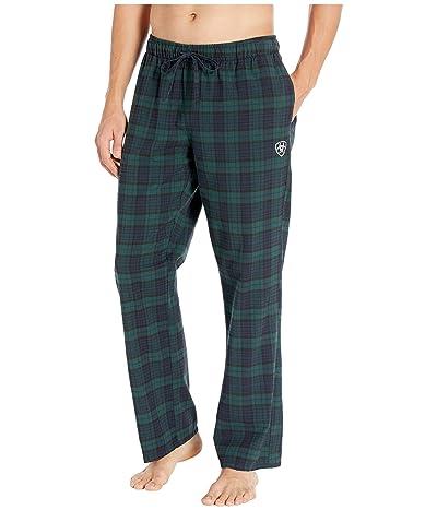 Ariat Flannel Pajama Pants (Blackwatch Plaid) Men