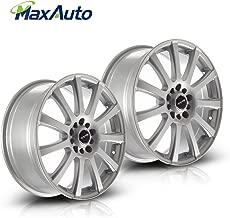 MaxAuto 2 pcs 18X7.5, 5x112 / 5x120, 73.1, 40, Silver Rims Alloy Wheels Compatible with Chevrolet Impala 2014-2017/Chevrolet Malibu 2013 2014/Honda Odyssey 2007-2012 15 16/Chevrolet Equinox 2010-12 16