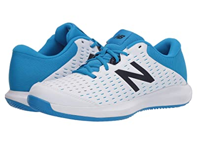 New Balance 696v4 (White/Blue) Men