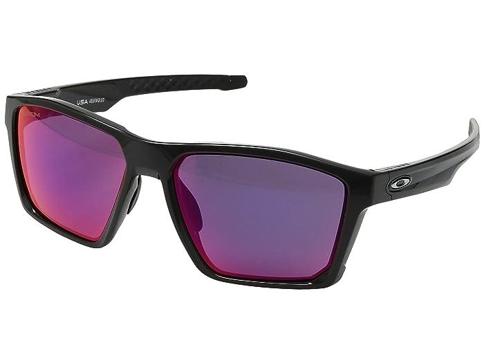 Oakley Targetline (Carbon w/ Prizm Road) Athletic Performance Sport Sunglasses