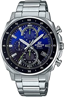 Casio Edifice EFV-600D-2AVUDF Analog Blue/Black Dial Men's Wrist Watch
