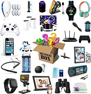 Mystery Box Elektronisk,Mysteriebox Överraskningslåda,Har Möjlighet Att Öppna Som VR, Datorvärd, Drönare, Smartklocka, Gam...