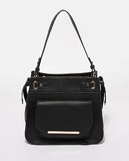 Black Lili Medium Tote Bag