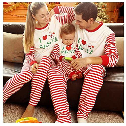 465a15d81a BOBORA Matching Christmas Pajamas for Family with Baby