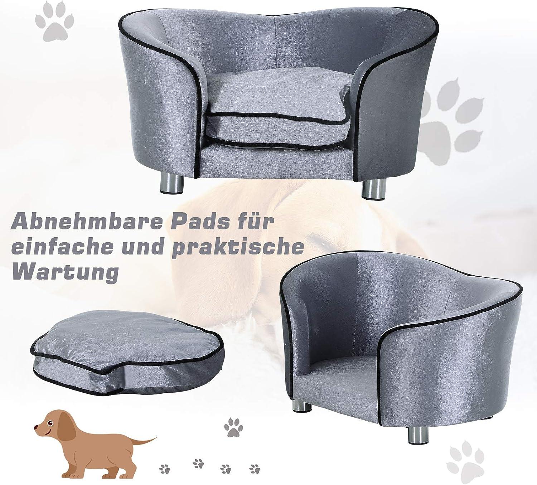 Pawhut Luxus Hundesofa Katzensofa Tier Sofa Hundecouch Couch ...
