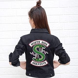 Denim Jacket Jeans South Side Serpents Streetwear Tops Spring for Women Girls Mujer Season 4 Merch Clothing