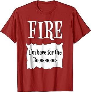 FIRE - Hot Packet Halloween Taco Costume T-Shirt