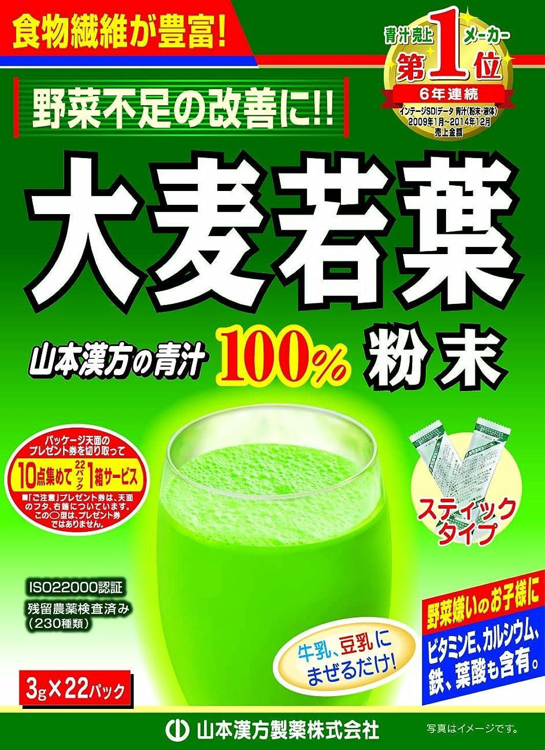 抽象化ハードマナー大麦若葉粉末100% スティックタイプ 3g*22包