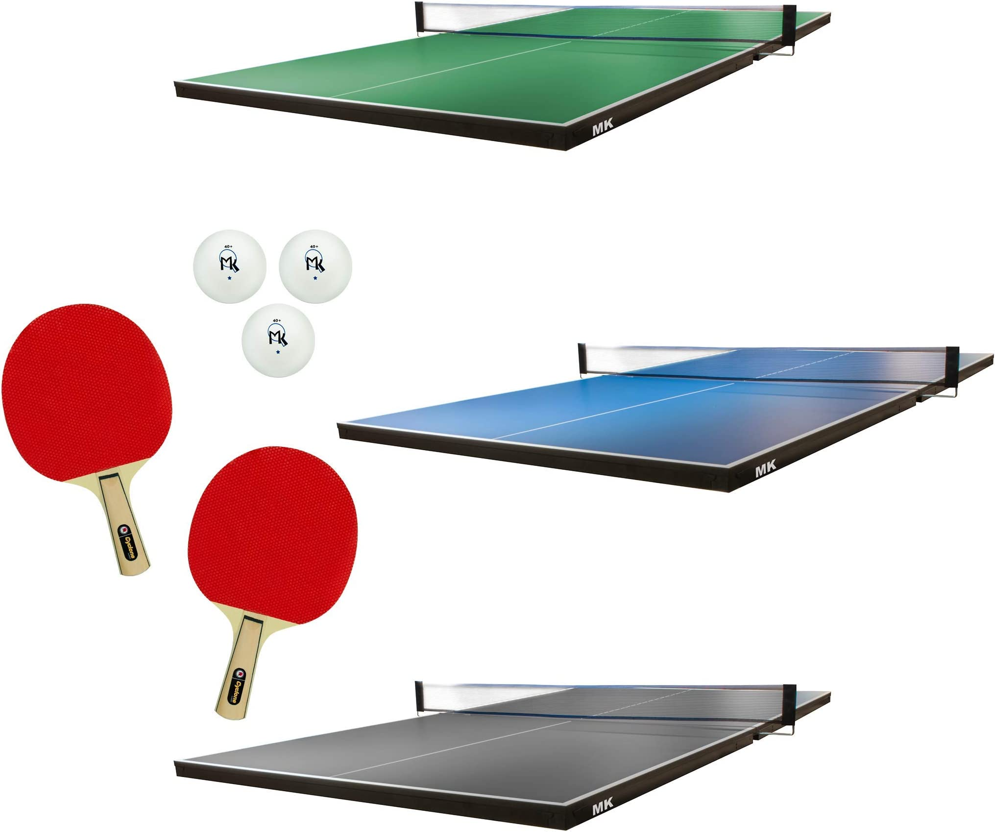 Martin Kilpatrick Ping Pong Table for Billiard Table | Conversion Table Tennis Game Table | Table Tennis Table with Ping Pong Paddle Set | Conversion Top for Pool Table Games | Ping Pong Table Top