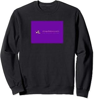 Shop4aBiz.com website promotional logo on garment Sweatshirt