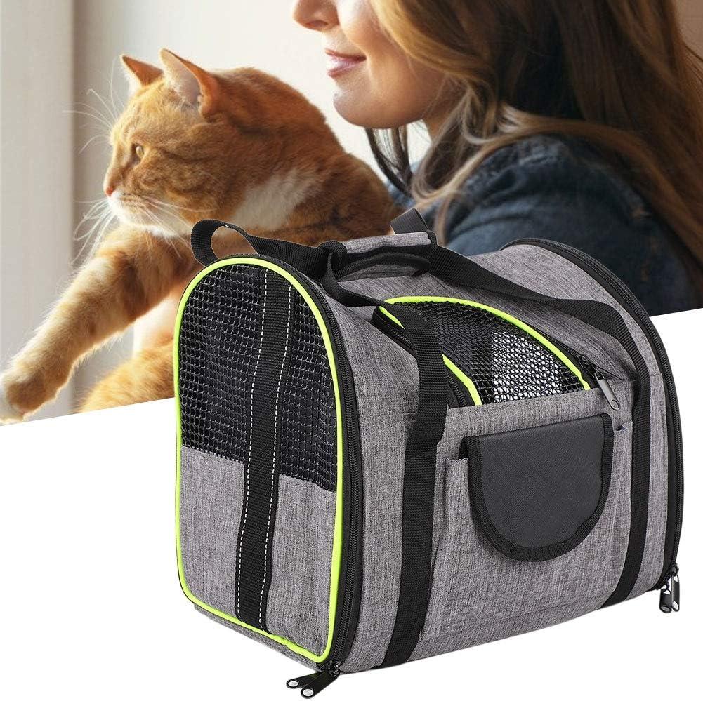 HAOX Folding Pet store Bag Tulsa Mall Side Designed Pocket Foldable P