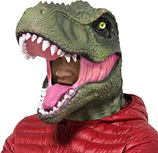 Halloween Party Latex Animal Jurassic Dinosaur Head Mask