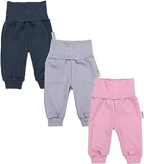 TupTam Pantalones de Bebé para Niñas. Paquete de 3