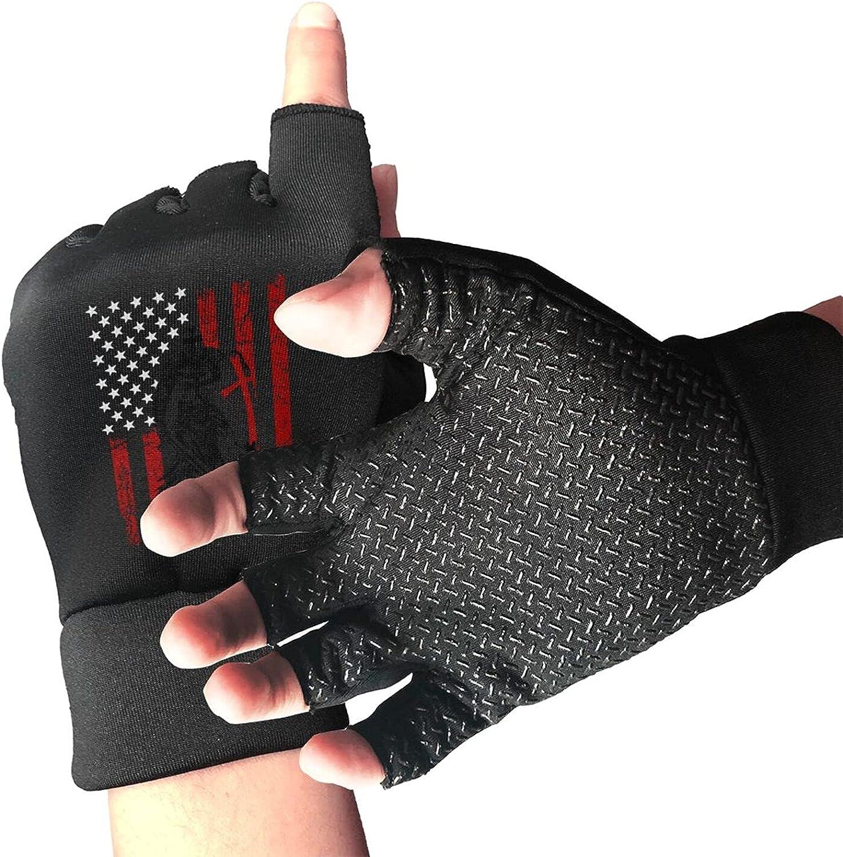 Knight Templar Crusader Warrior Non-Slip Working Gloves Breathable Sunblock Fingerless Gloves For Women Men