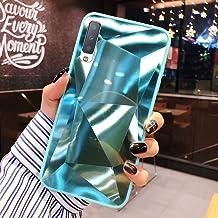 URFEDA Compatibel met Samsung Galaxy A7 2018/A750 telefoonhoesje Diamond Glitter Case met spiegeleffect Bling TPU Silicone...