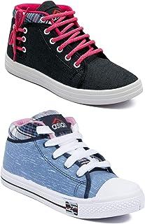 ASIAN Multicolor Sports Shoes,Casual Shoes,Walking Shoes,Canvas Shoes for Women UK-7