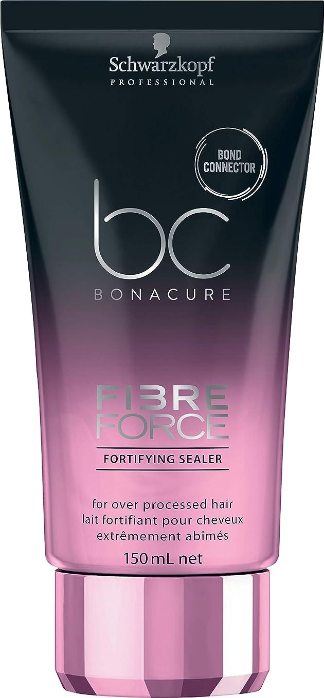 言い訳ファイバ登山家シュワルツコフ BC ボナキュア ファイバー フォース フォーティファイ シーラー Schwarzkopf BC Bonacure Fibre Force Fortifying Sealer for Over-Processed Hair 150 ml [並行輸入品]