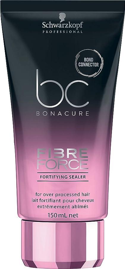 区画望ましいサイクルシュワルツコフ BC ボナキュア ファイバー フォース フォーティファイ シーラー Schwarzkopf BC Bonacure Fibre Force Fortifying Sealer for Over-Processed Hair 150 ml [並行輸入品]