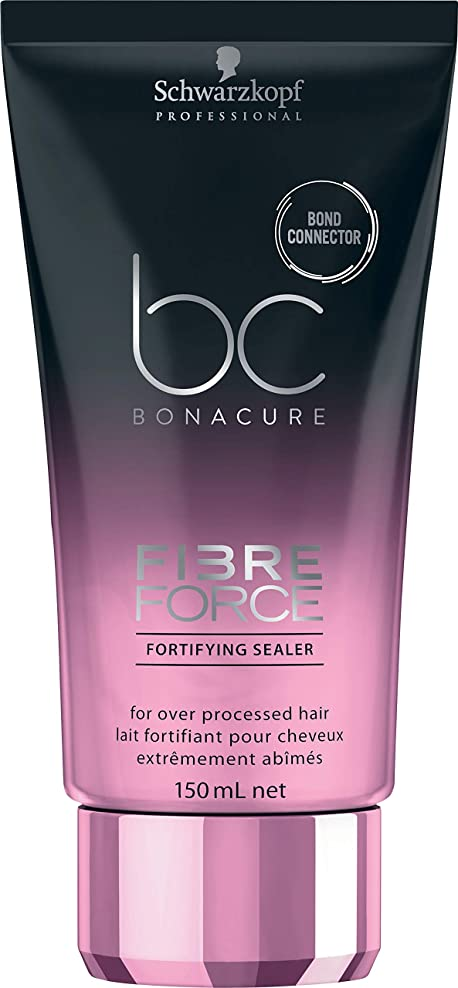 破産ドラフトシュワルツコフ BC ボナキュア ファイバー フォース フォーティファイ シーラー Schwarzkopf BC Bonacure Fibre Force Fortifying Sealer for Over-Processed Hair 150 ml [並行輸入品]