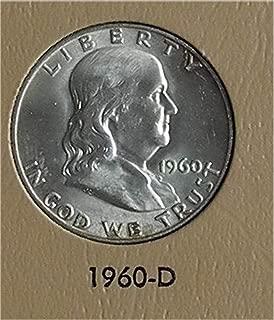 1960 D Franklin Half Dollar Very Good