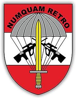 Aufkleber/Sticker Jagdkommando Österreich Spezialeinheit Numquam 7x5cm A1727