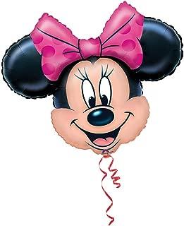 Anagram Disney Minnie Mouse Head Jumbo 28