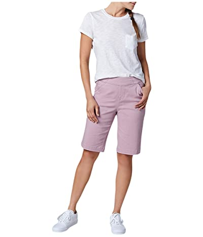 Jag Jeans Gracie Pull-On Bermuda Shorts Twill (Soft Violet) Women