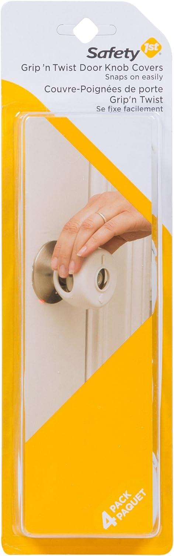 Safety 1st Grip N' Twist Door Knob Cover, 4-Count