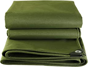 Wang Zware zeildoek waterdicht Tarp groen, zwembad dakbedekking camping tenten, scheurbestendig, 600G/M² kwaliteit Cover T...