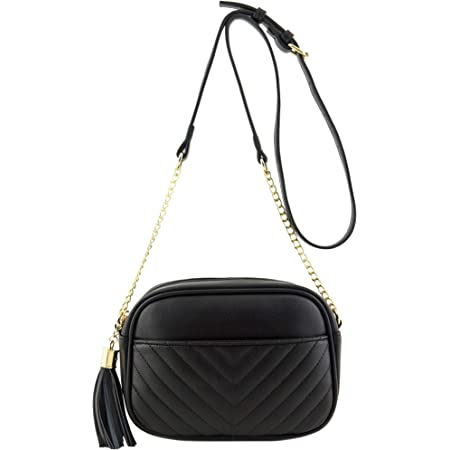 Mumeiduo Small Crossbody Bag Shoulder Bag Purse With Metal Chain Strap for Women Girls