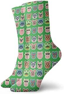 1Paar Bootssocken Socken Damen Heren Sneaker Kurze Socken Yoga Innenboden