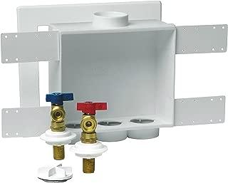 Oatey 38530 2-Inch Copper Sweat Standard Pack 1/4 Turn Brass Valves