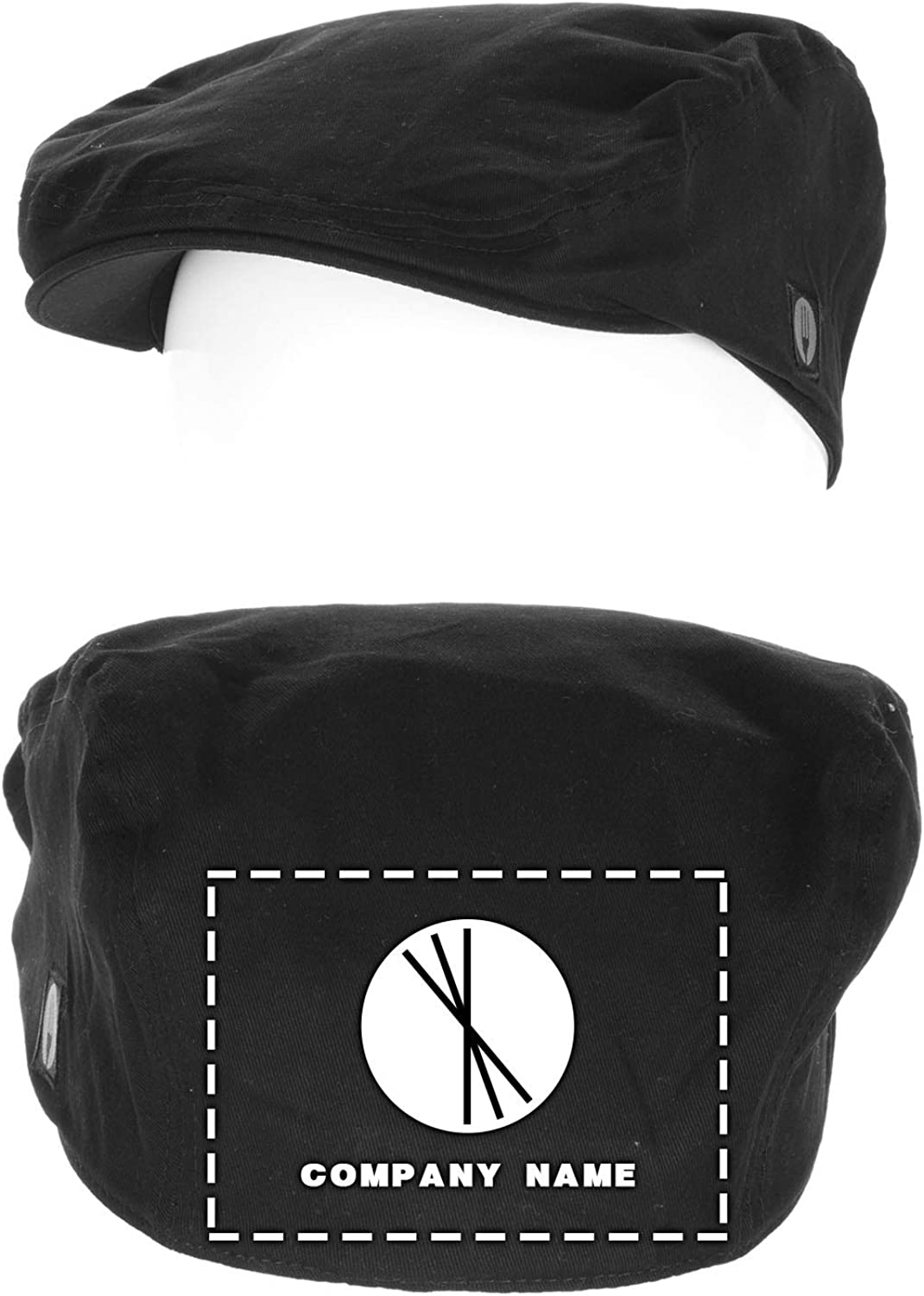 Chef Works Regular store Custom Embroidered Black L Driver XL price - Cap